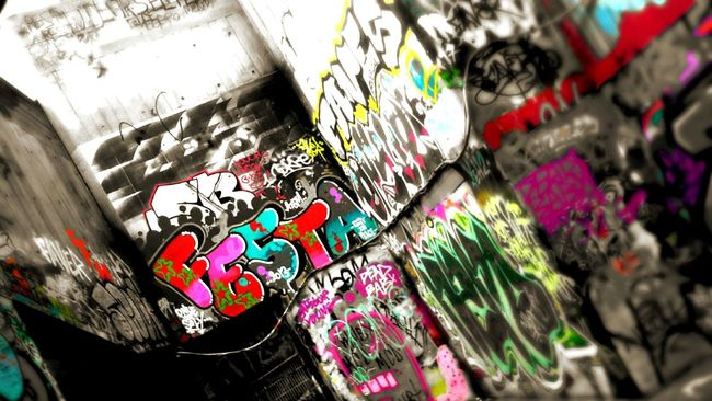 colour. Southbank London Graffiti Art Pic Photobucket Getty Getty Image Colour Of Life Photo Photography Modern Enhance Edit Life In Colors Bombing The City With Art. Check This Out