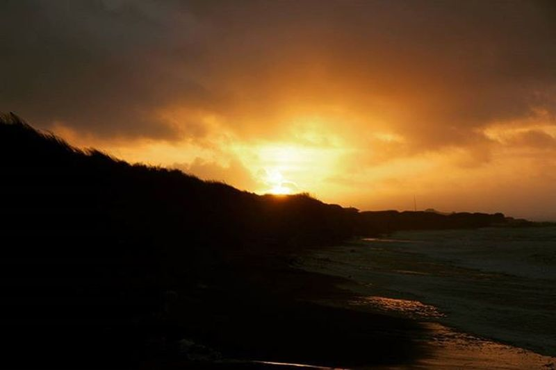 Sunset Beautiful Dunes Denmark Northsea Skyonfire Solnedgång Skyporn Cloudporn Sky And Clouds Skylovers Sky_collection