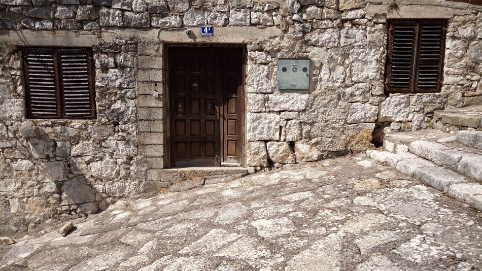 Architecture Built Structure Window No People Outdoors Building Exterior Door Windows Wall - Building Feature Stone Material