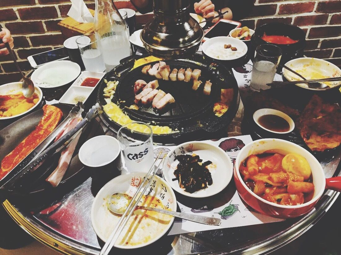 20160116 BBQ~好懷念去韓國吃肉の時候窩