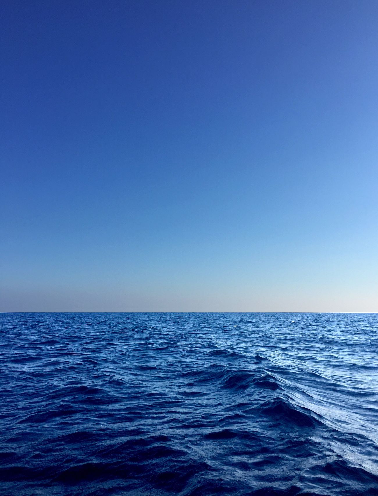 Blue Sea Sea And Sky Horizon Over Water Seascape Rippled Water Clear Sky Beauty In Nature Blue Sky Nature Getting Inspired