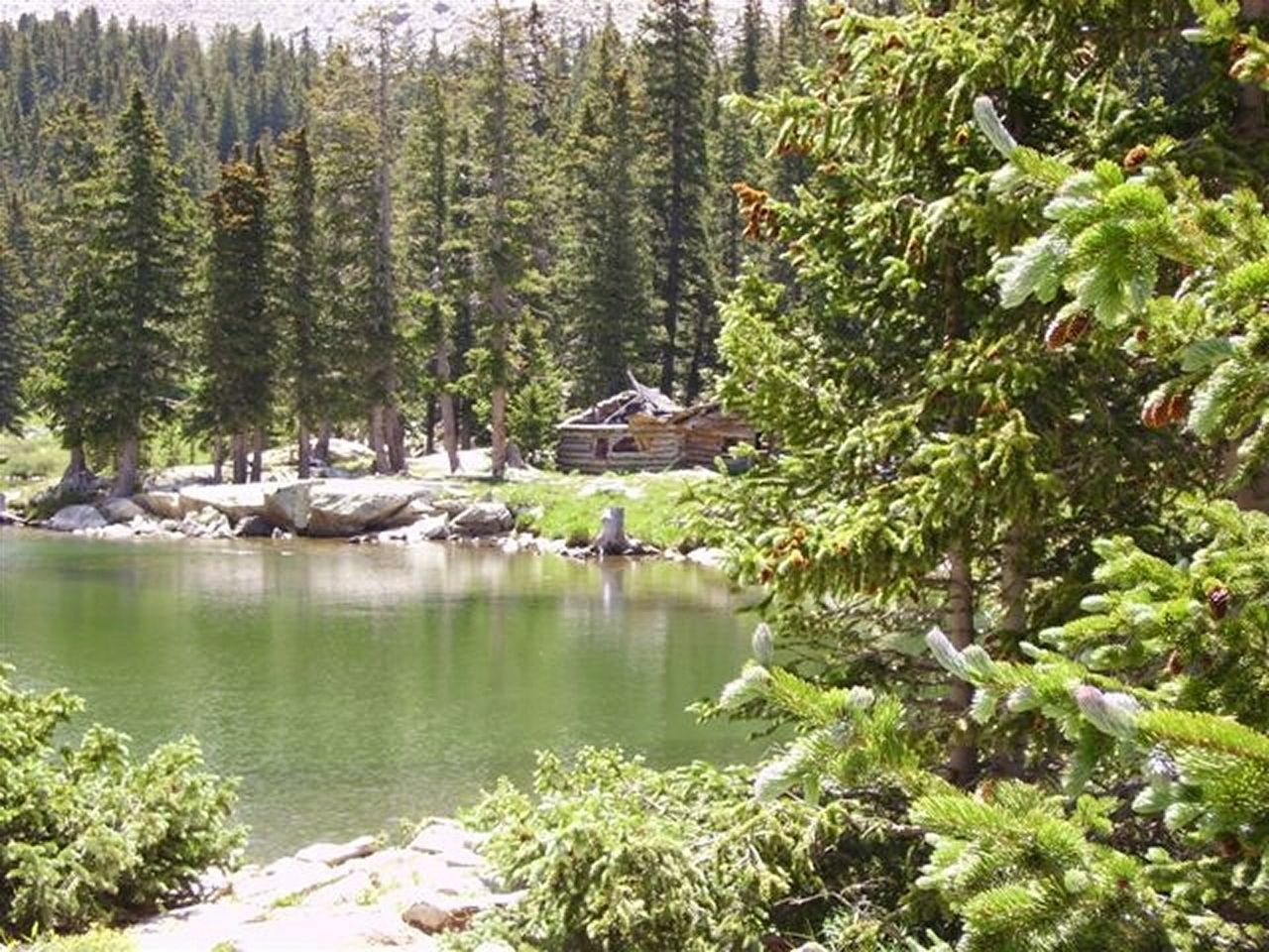 Nature Outdoors Growth Tree Day No People Lake Water Forest Beauty In Nature Plant Sky Blanca Pass Blanca Lake Old Log Cabin Colorado Mountain Beauty Incredible Breathtaking Picture Perfect Lake EyeEmNewHere Let's Go. Together.