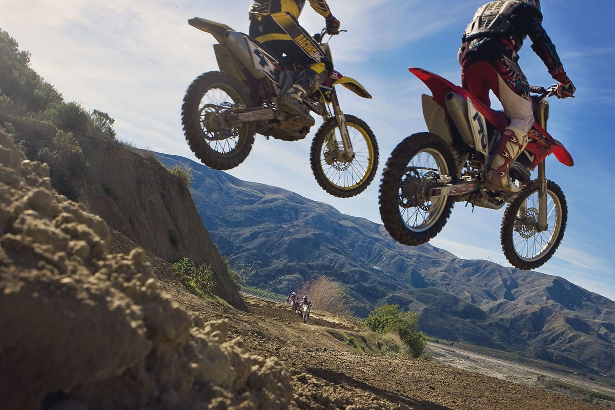 Adventure Bike Bikes Day Dirt Bike Dirt Bikes  Land Vehicle Landscape Leisure Activity Lifestyles Mode Of Transport Motorbike Motorbikes Motorcross  Mountain Mountain Range Outdoors Sky Sport Sports Unrecognizable Person