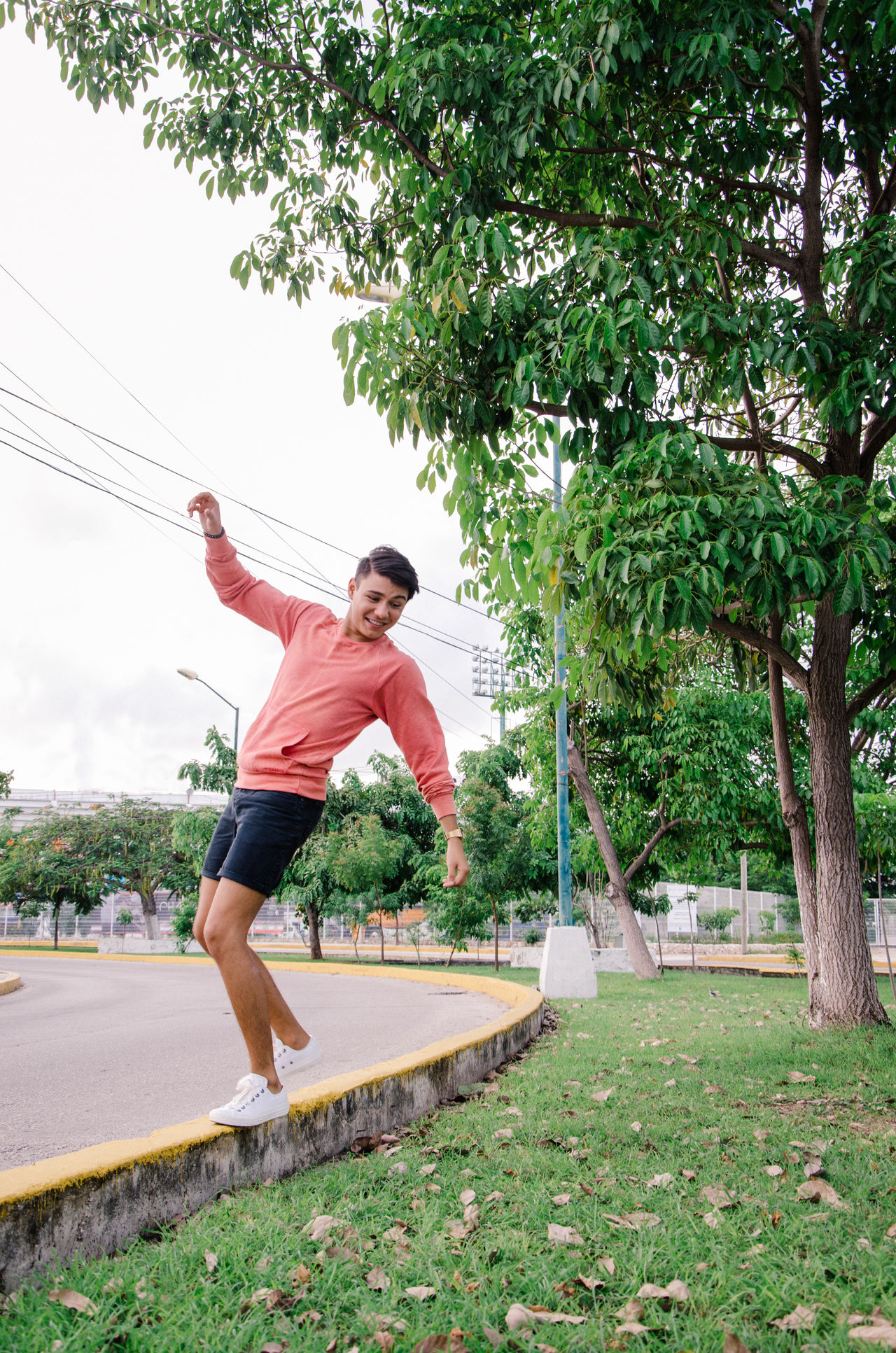Beautiful stock photos of mexico, 20-24 Years, Arms Outstretched, Balancing, Cancun