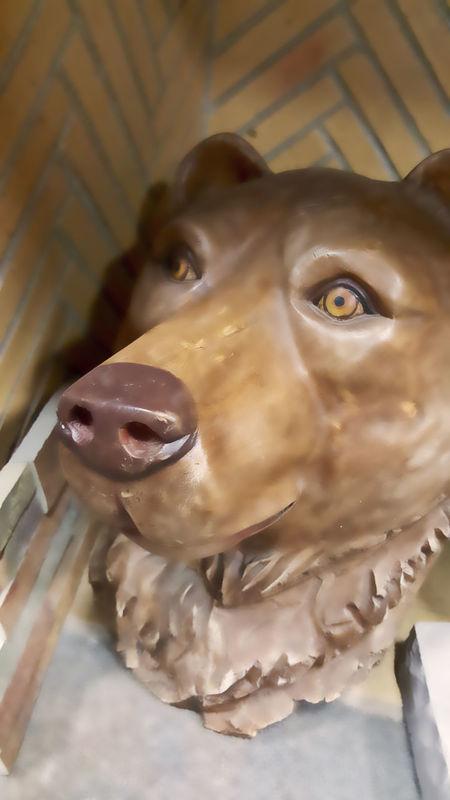 Art Bear Head Bokeh Photography Carving Curiosity Disturbingly Beautiful EyeEm Best Shots Love This! Sculpture