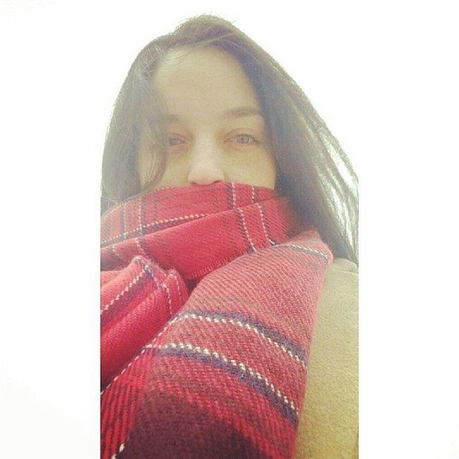All Bundledup in freezing cold London