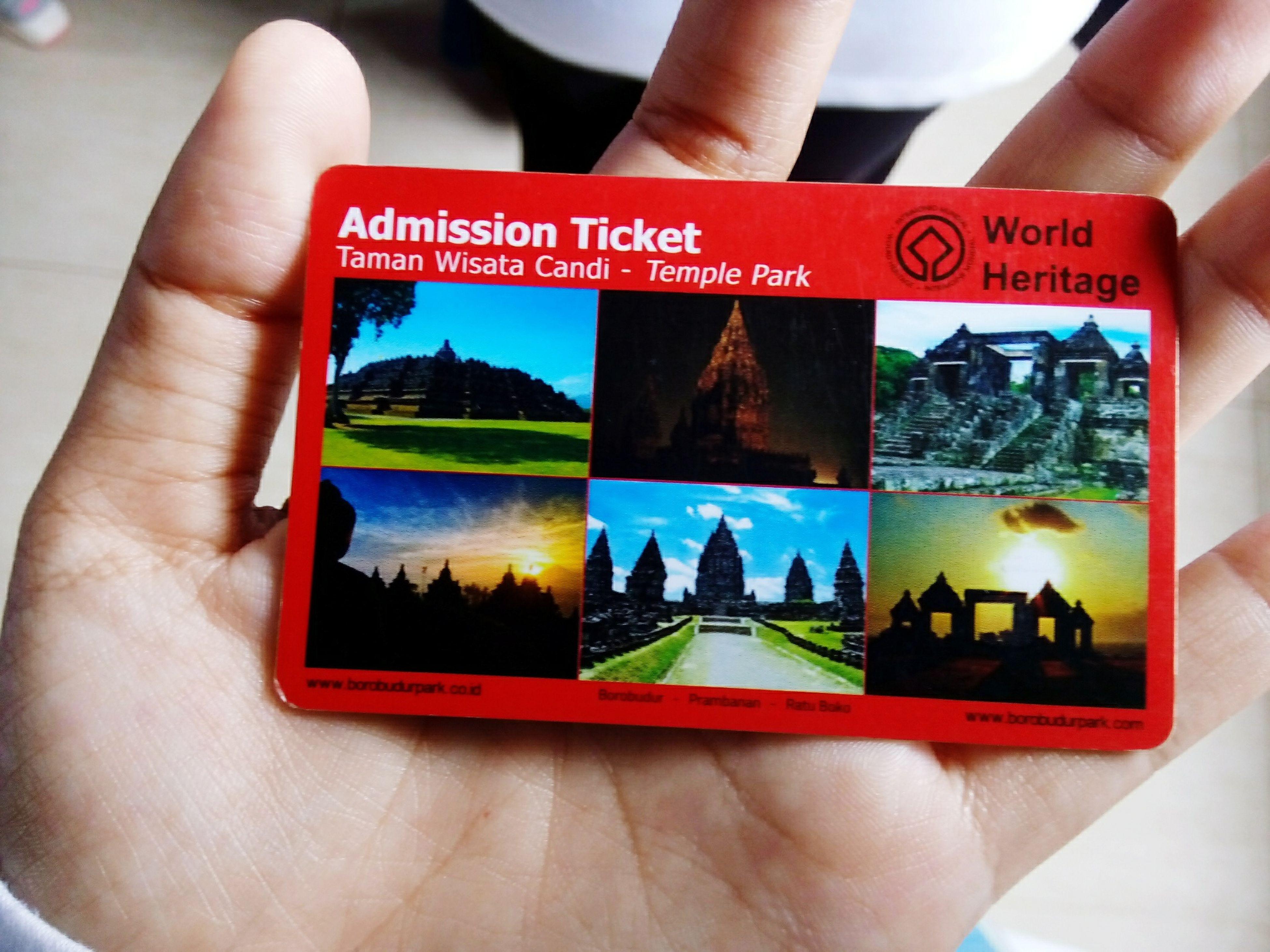 Borobudur 2may15 Peace And Love Ticket