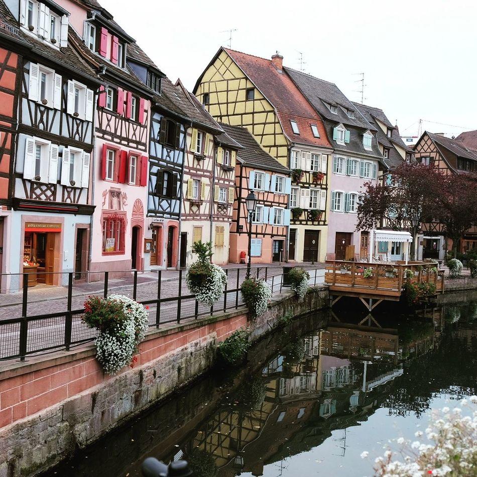 Le Petit Venice Colmar, Alsace, France Colorful Houses Colorful Buildings Canal