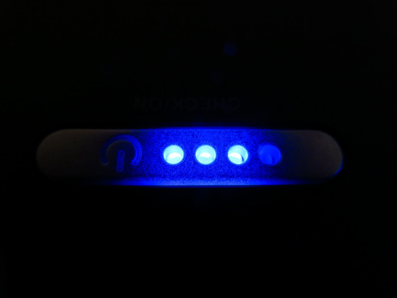 Power indicator Battery Charge Blue Charge Close-up Dark Blue Electric Light Electricity  Indicator Light Led Lights  Light Night No People Power Supply Status Technology