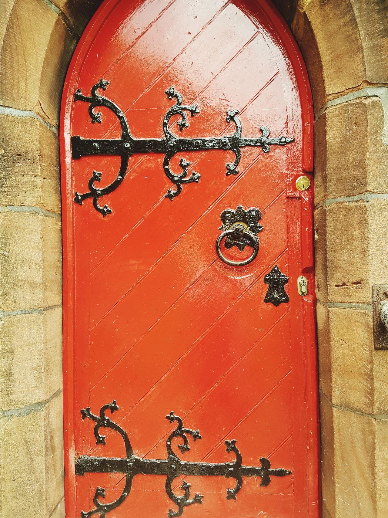 Church Door Door Built Structure No People Architecture Doorway Church Doors Red Door Door Details Door Knocker