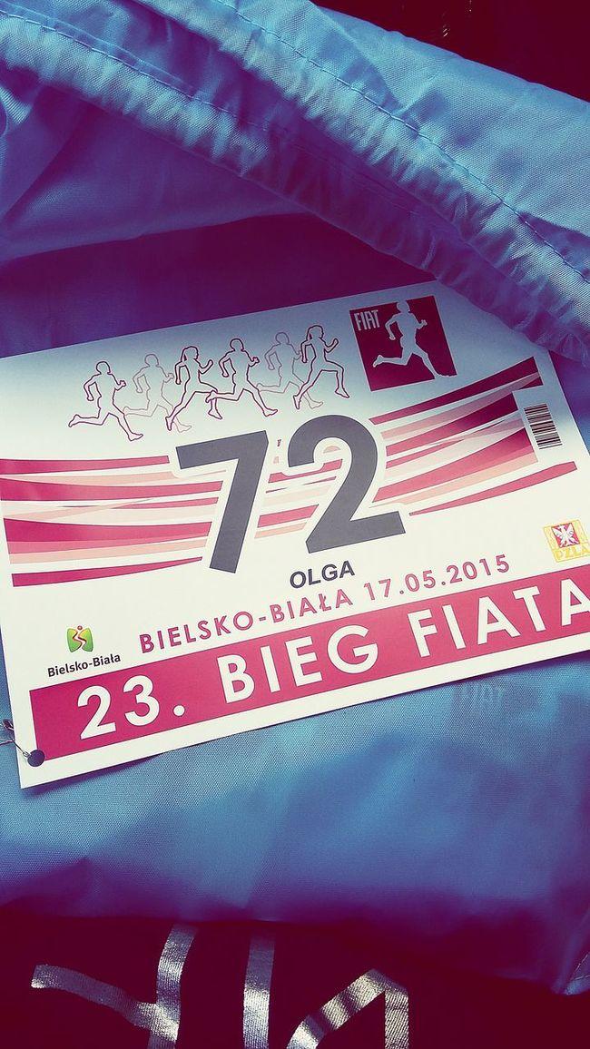 Pakiet już jest! BiegFiata Bielsko-Biała Running Sklep Biegowy Enjoying Life LOVE Running Keepcalmandrun