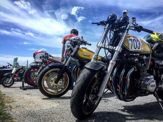 2016.4.24伊是名島ドラッグレース 沖縄 伊是名島 ドラッグレース バイク Okinawa Bike Sky Natural Iphone6