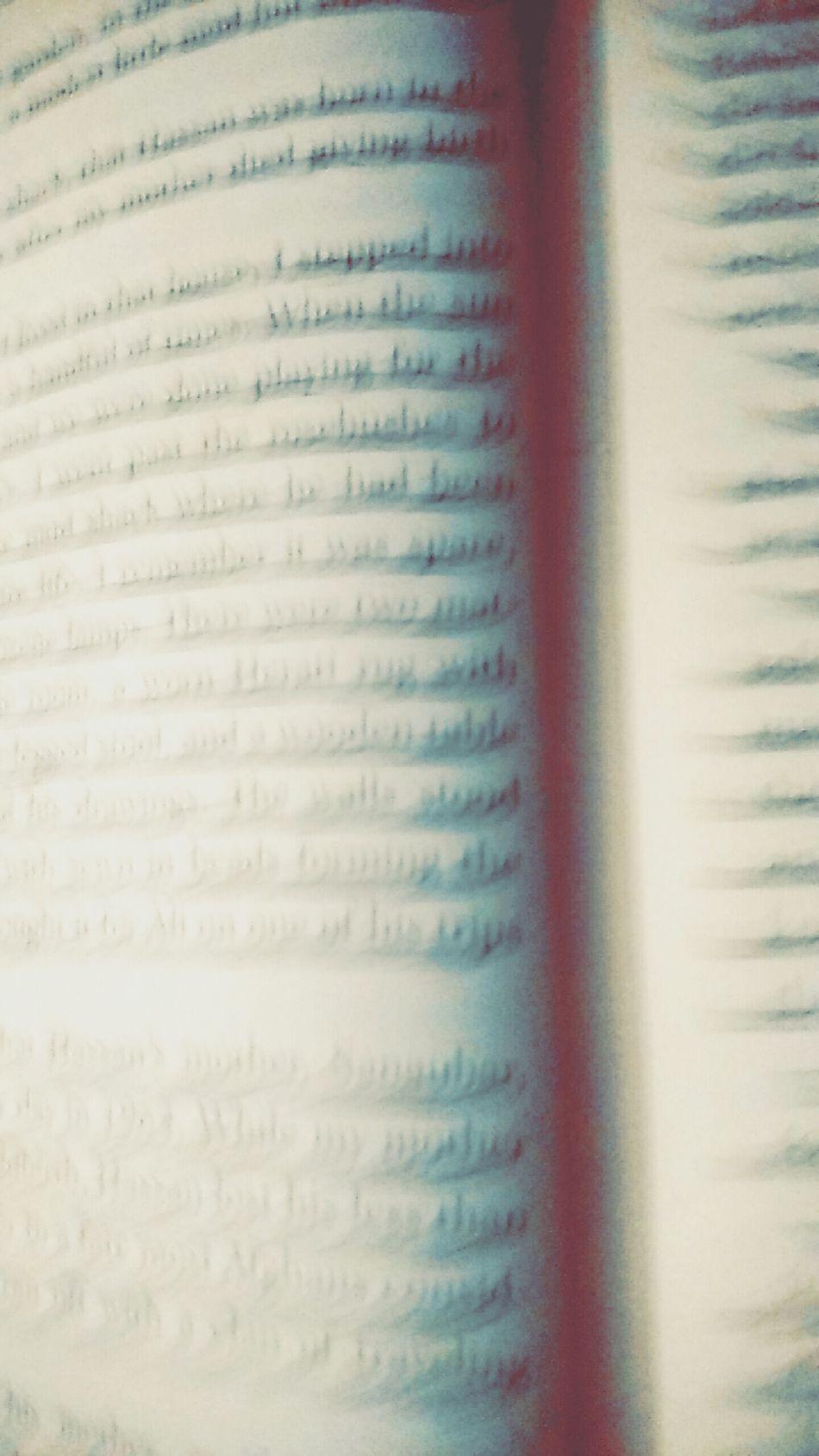 Book Reading Blur Text The Kite Runner
