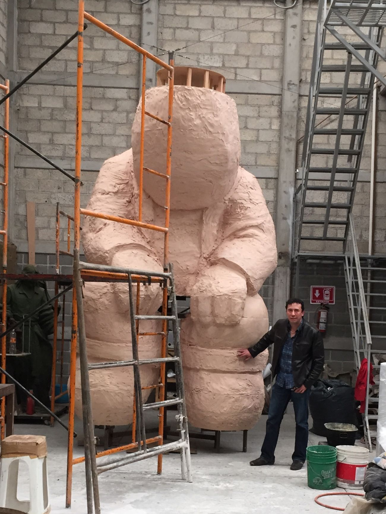 Sculpture Monumental  Rodrigodelasierra Art ArtWork próximo proyecto