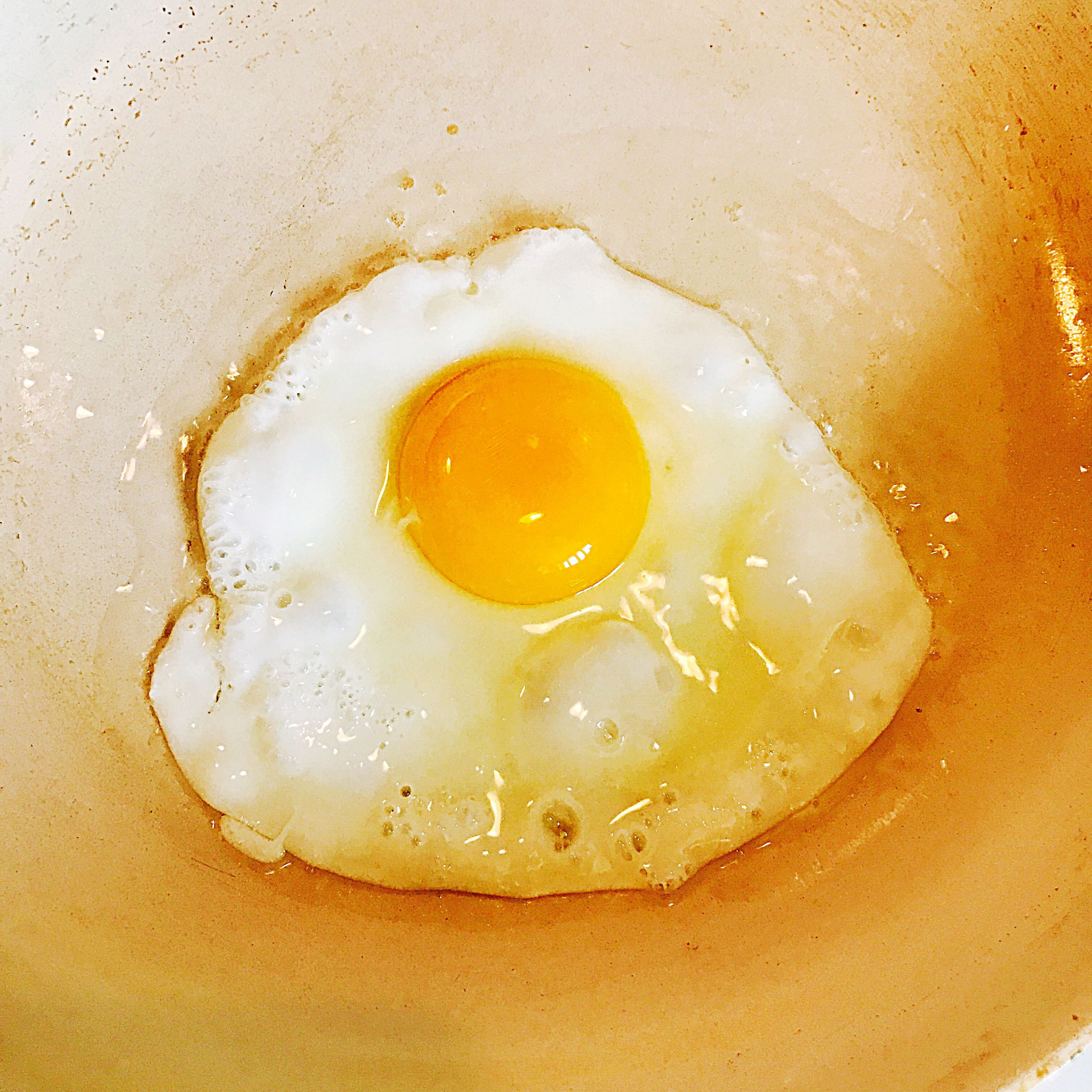 egg, food and drink, egg yolk, food, yellow, fried egg, indoors, no people, preparation, healthy eating, breakfast, freshness, egg white, close-up, sunny side up, day