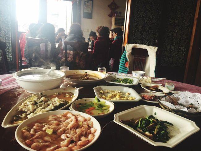 Chinese Food Watertown South China Kunshan Jiangsu Traditional Culture Daylight Family