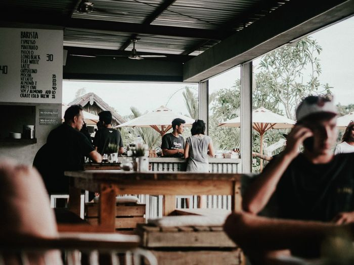 Life is crate Indoors  Table Leisure Activity Adults Only Drinking Friendship Bar - Drink Establishment Coffee Travel Photography Bali Travel Canggu Moody Coffee Break Coffee Time Real People