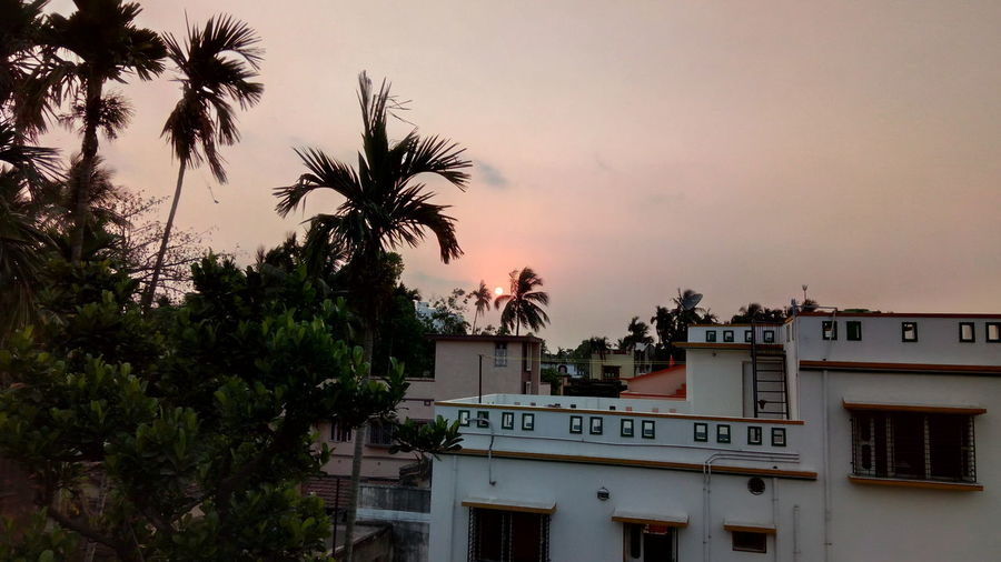 Sunset Sky Outdoors City First Eyeem Photo