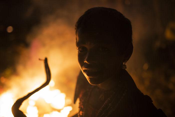 At Kulasekarapattinam Dasara 2016 Close-up Closeup Dasara Dusherra Festival Fire Focus On Foreground Girl Kid Kulasekarapattinam Lowlight Portrait Portraiture Profile Young Adult Overnight Success The Portraitist - 2017 EyeEm Awards Paint The Town Yellow