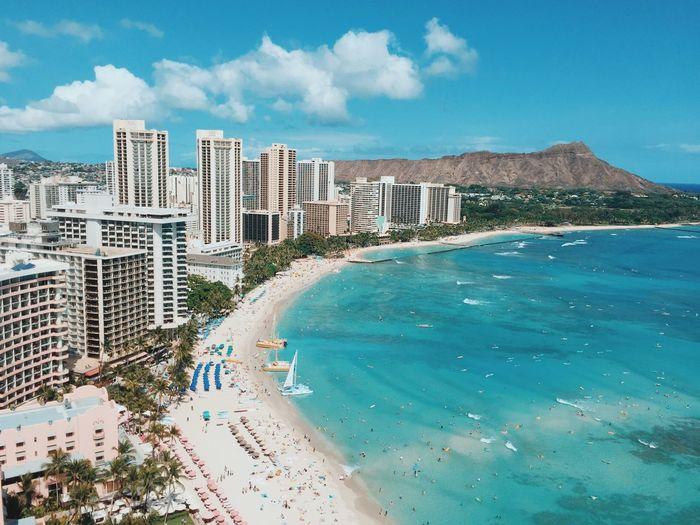 PENTHOUSE LIVING Sheratonwaikikihotel WaikikiBeach Waikiki Diamondhead Travel Paradise Ocean Oahu Hawaii