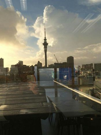 """ Blended"" Popular Photos Beautiful Check This Out Blended Images Boyfriend❤ and SkyTower at Auckland New Zealand"