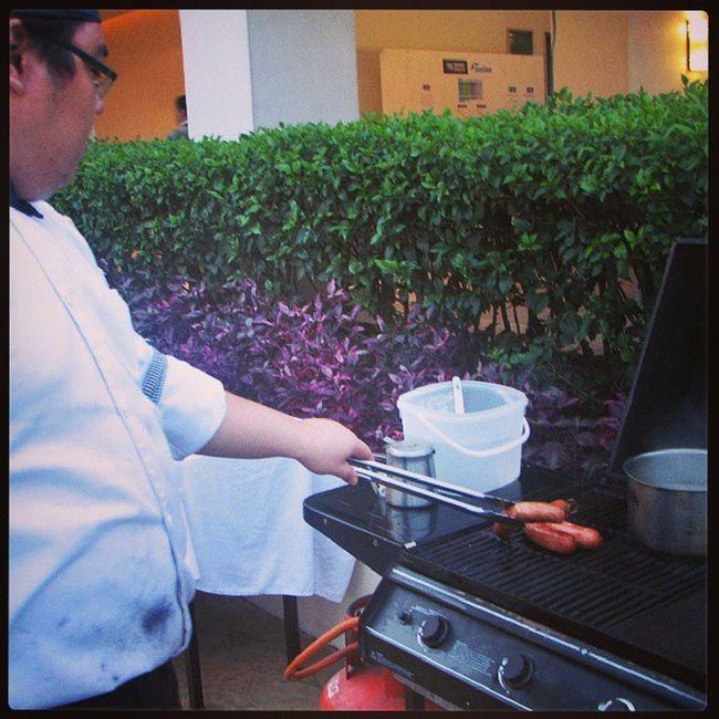 Pahabol sa Flashbackfriday !!! Sausage days... at ThePalmsCountryClub
