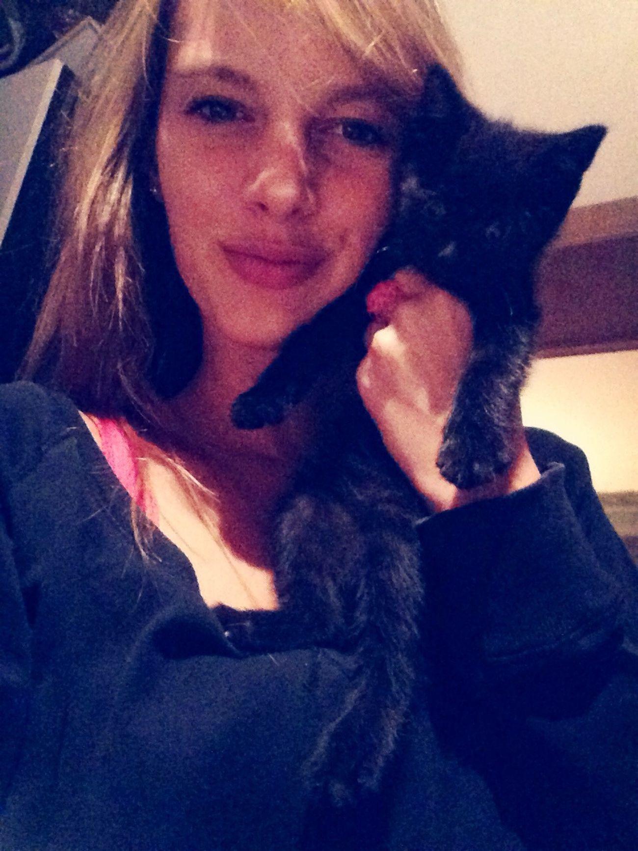 Cut baby cat ❤️