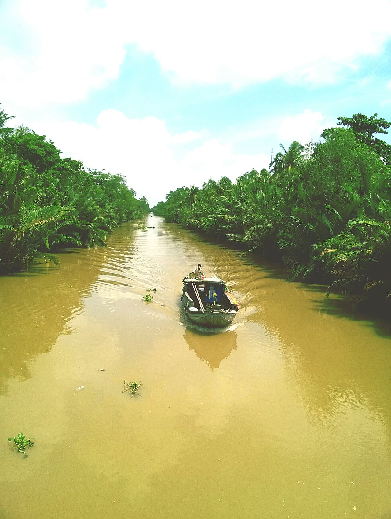 Vietnam Southernvietnam SocTrangProvince Beautiful Mekong River MekongDelta