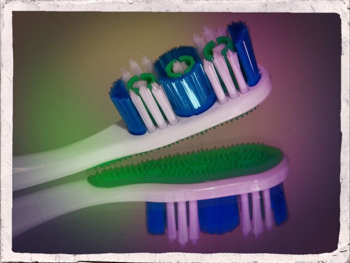 Funky new toothbrush. Photo Of The Day Canon Photography Reflection Barhroom