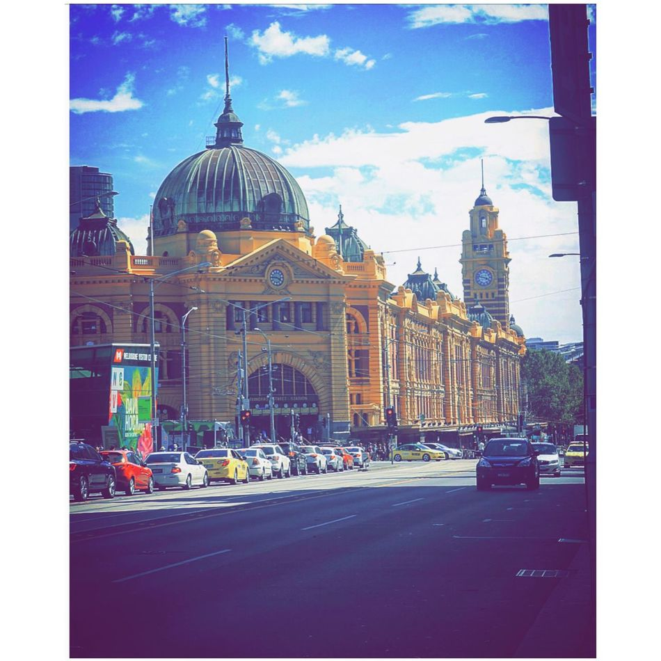 Flinders Street Station Flinders St #Melbourne