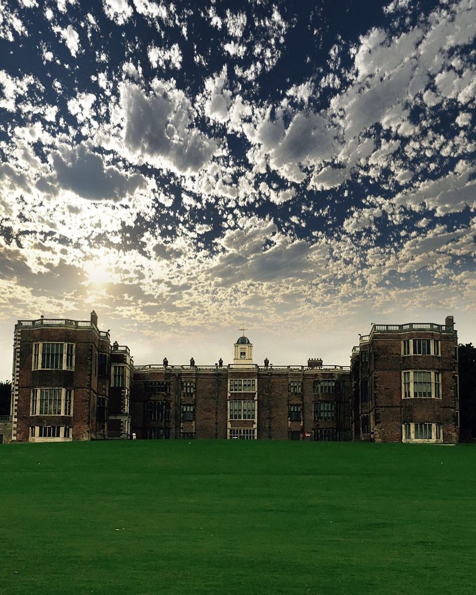 Temple Newsam Temple Newsam House Summertime Clouds And Sky Leeds Architecture Lawn Yorkshire