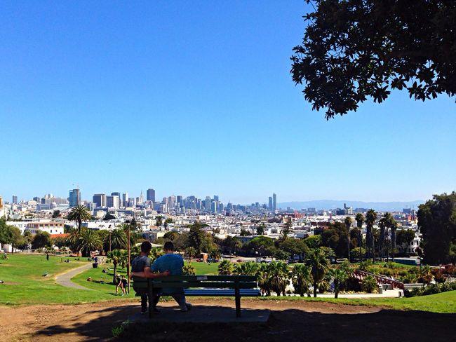 Overlooking Downtown San Francisco Traveling Enjoying The Sun Enjoying Life Tadaa Community