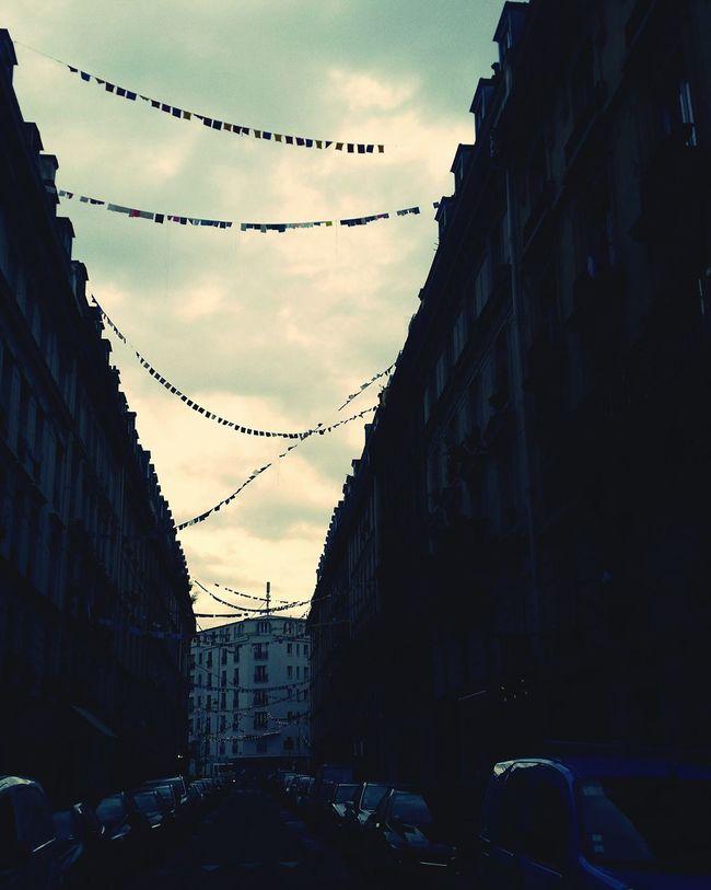 Paris Je T Aime Silhouettes Of A City Suckerforprettyskies Prayer Flags  13novembre2015 Aftermath