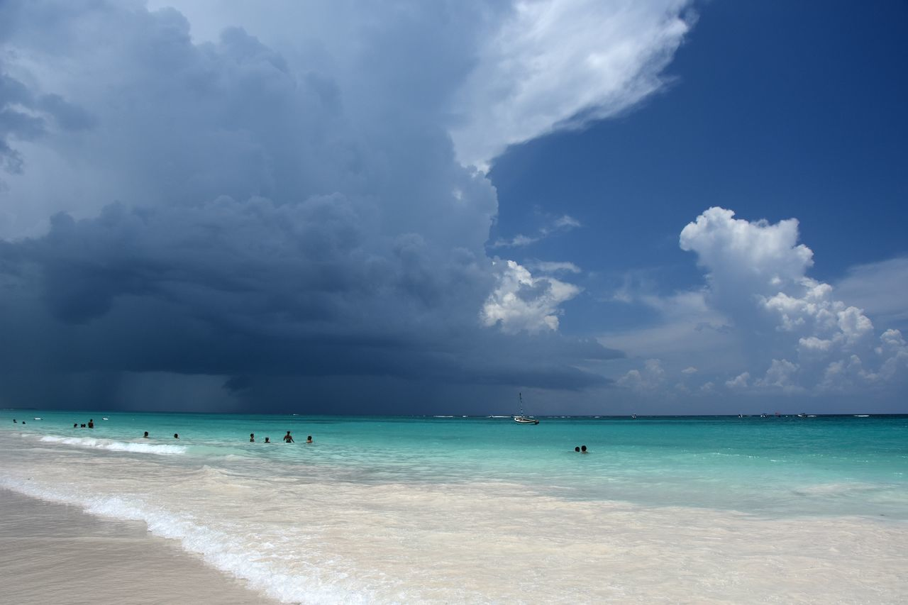 Beautiful stock photos of hurricanes,  Beach Holiday,  Beauty In Nature,  Caribbean,  Cloud - Sky