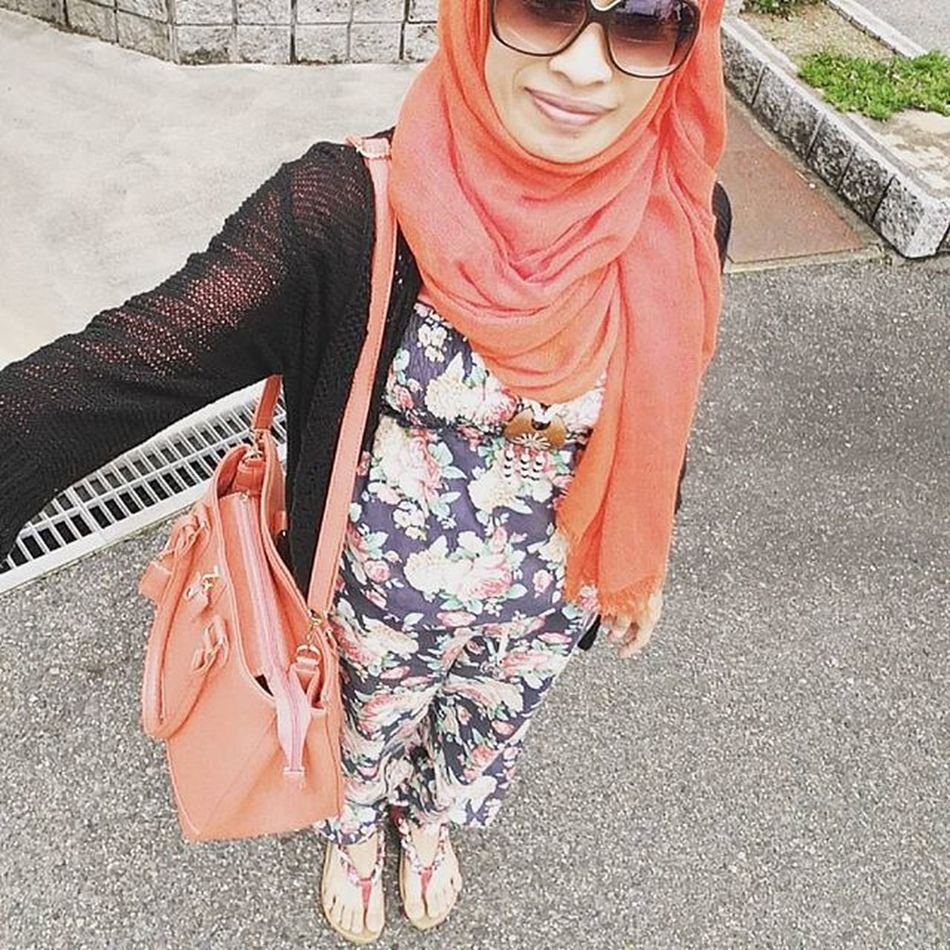 Orange Hijab Musliminjapan Livinginjapan Myojitabuchi 日系人