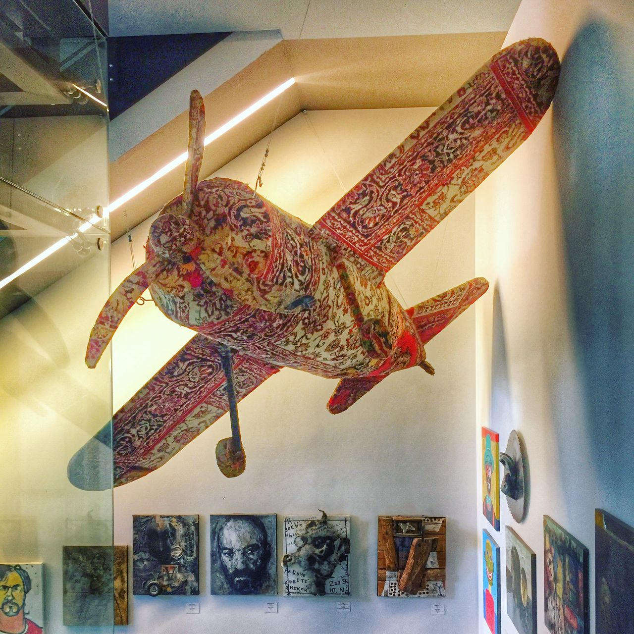 Airplane Carpet Fly Fly Away Flying Flying Carpet Flying Carpets Flying High Gallery Gallery Of Art Illuminated Indoors  Museum Museum Of Modern Art No People Retail  Wing