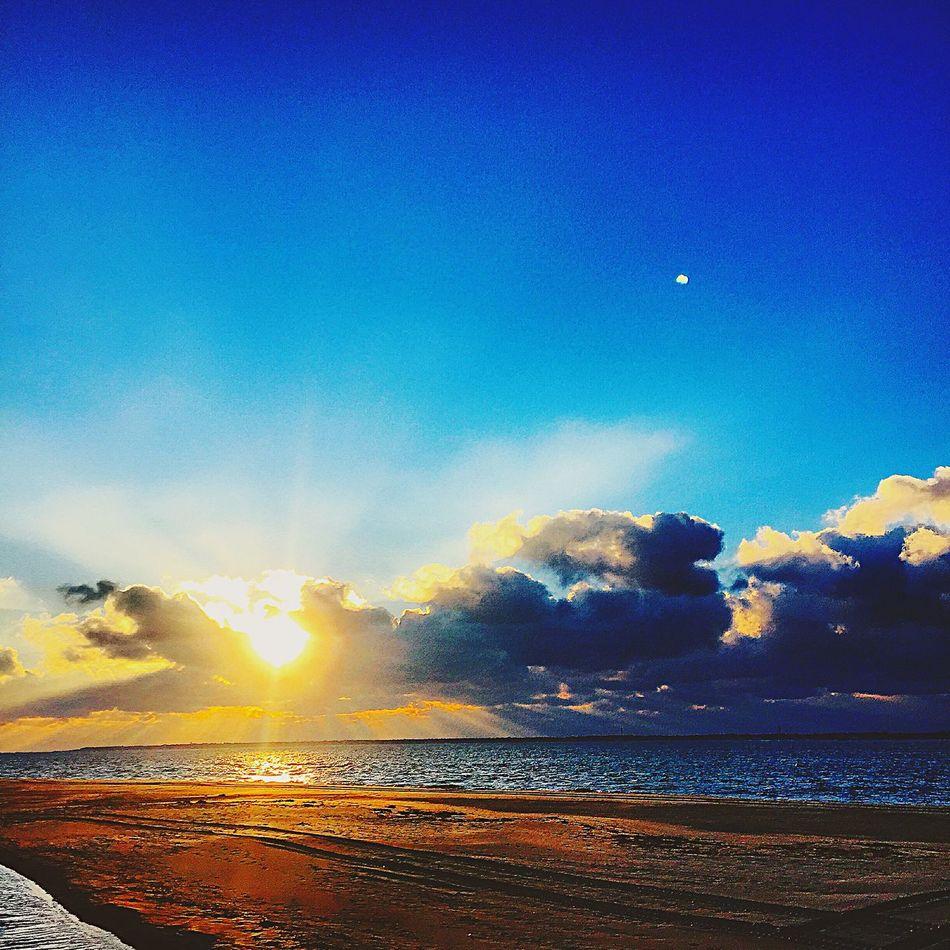 Sunshine Being A Beach Bum Enjoying The Sun Sunset And Clouds  Arcachon Like Love Beachphotography Photography Followme