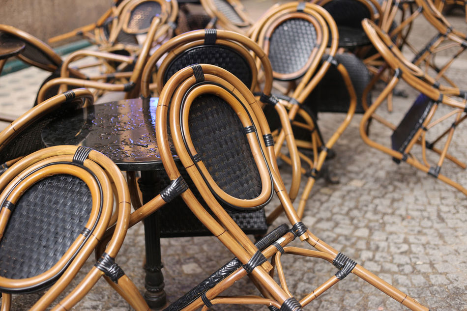 Beautiful stock photos of vienna, Chair, Close-Up, Day, High Angle View