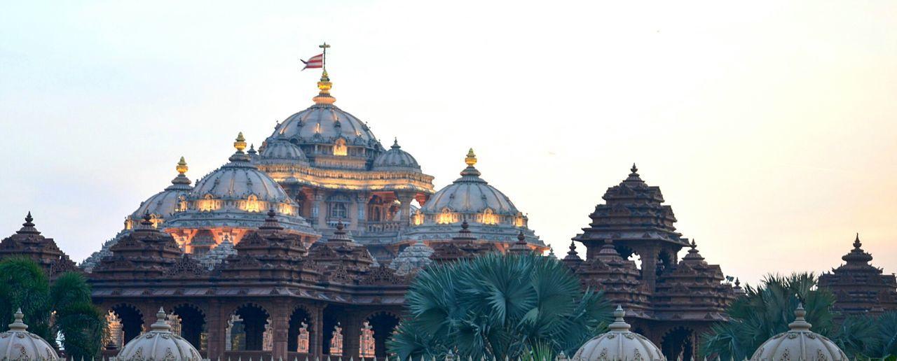Architecture Religion Place Of Worship Travel Destinations Built Structure City Day Outdoors Akshardhaamtemple Delhidiaries Beauty Touristic Destination The Architect - 2017 EyeEm Awards