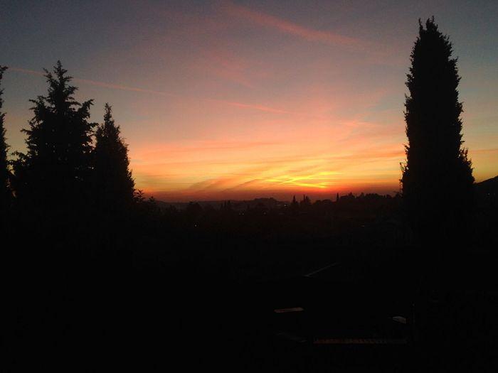 My Best Photo 2015 sunset Goodnight Valpolicella Italy❤️ Verona Relaxing