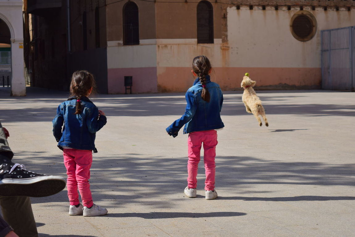 Childhood Girls Togetherness Dog Running Barcelona, Spain Neighborhood Map The Street Photographer - 2017 EyeEm Awards Street Photography Raval Barcelona CCCB BYOPaper! Place Of Heart Sommergefühle Your Ticket To Europe Pet Portraits Done That. EyeEm Ready