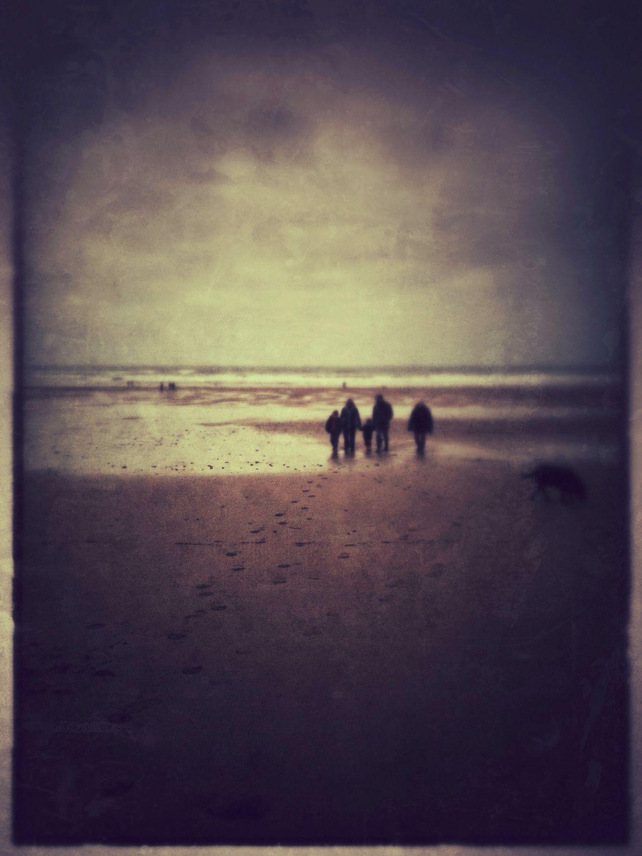 Walking around at Crooklets Beach Walking Around
