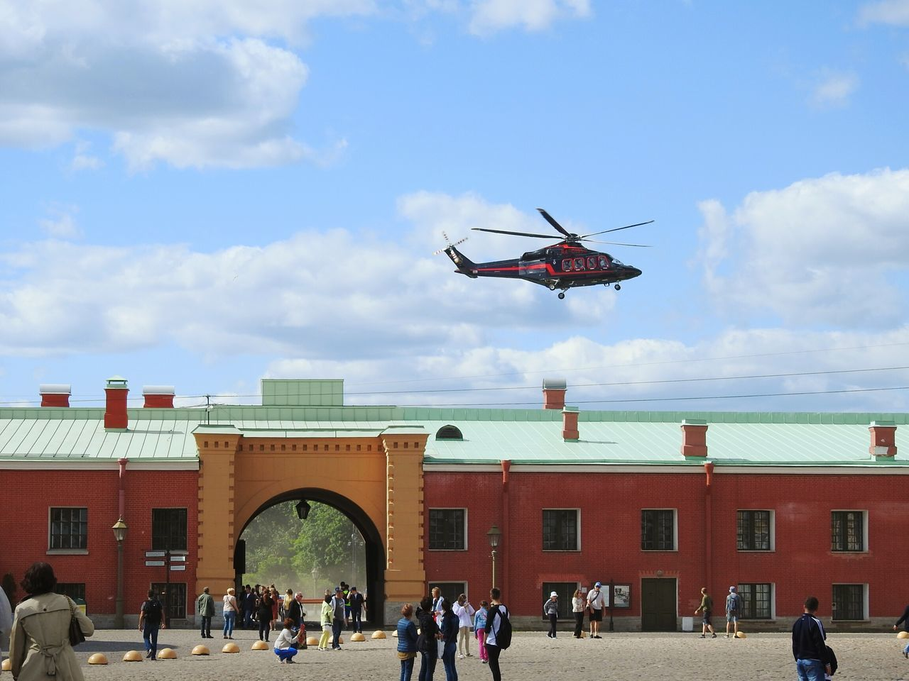 Petropavlovskayafortress Sankt-Petersburg Helycopter Blue Sky Clouds And Sky Sunny Day Summer ☀ Russia Tourism Best Place On Earth Need For Speed Feel The Journey