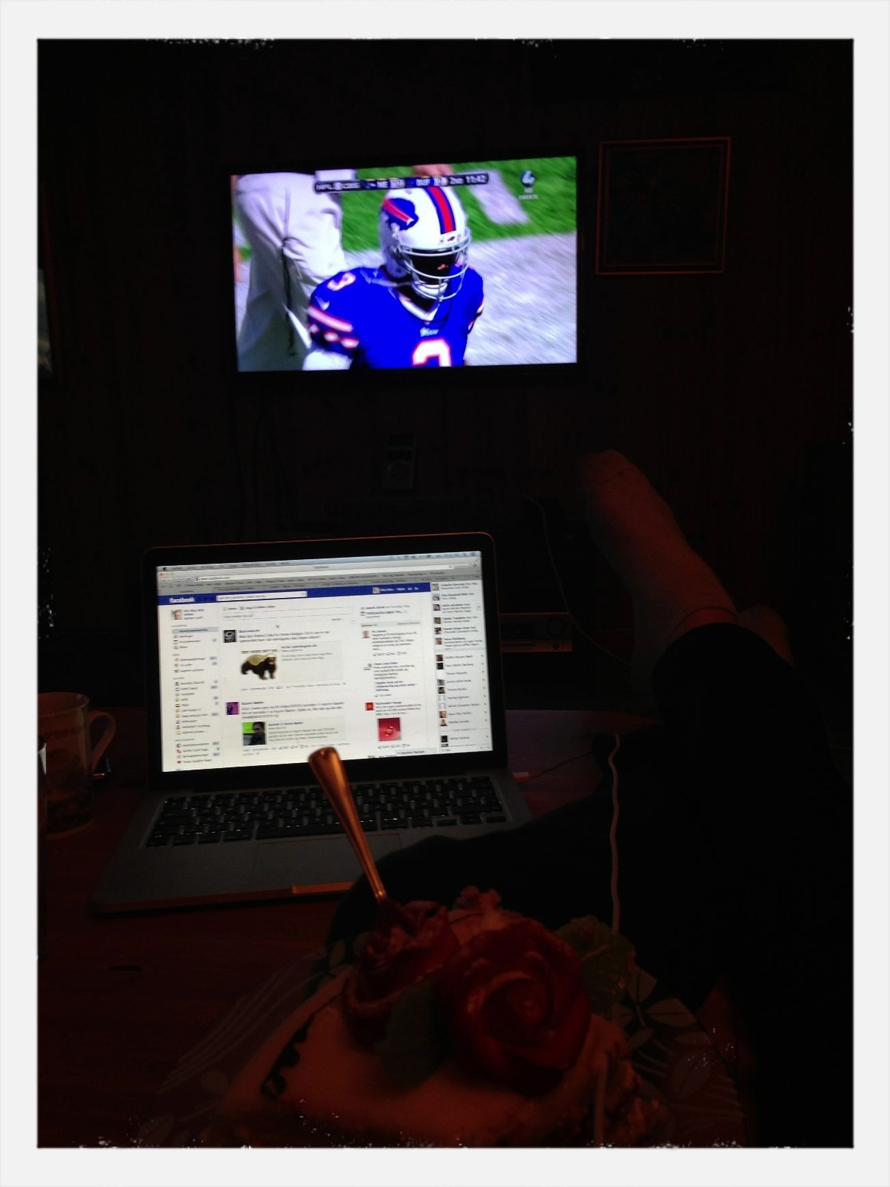 Innafor NFL Facebook Cake