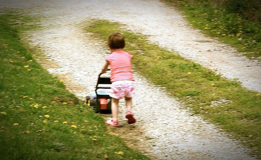 Mowing The Lawn Kids Being Kids Showcase: December