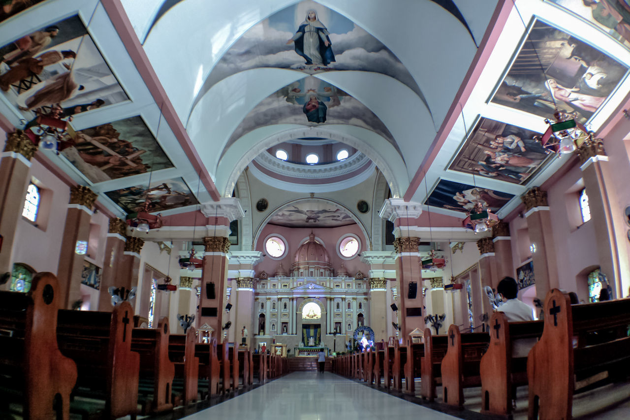 Architecture Travel Destinations Religion Built Structure Indoors  Place Of Worship No People Day Manila, Philippines NbanFamily My Year My View Nokia808Pureview Eyeem Philippines