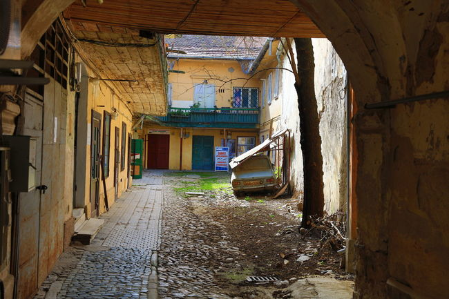 Sibiu, Romania Alley Architecture Bad Condition Building Built Structure Deterioration Diminishing Perspective Empty Eyem Best Shots Eyem Gallery Interior Courtyard Interiors Narrow Obsolete Old Residential Building Residential Structure Run-down The Way Forward Town Walkway Showcase April The Street Photographer - 2016 EyeEm Awards