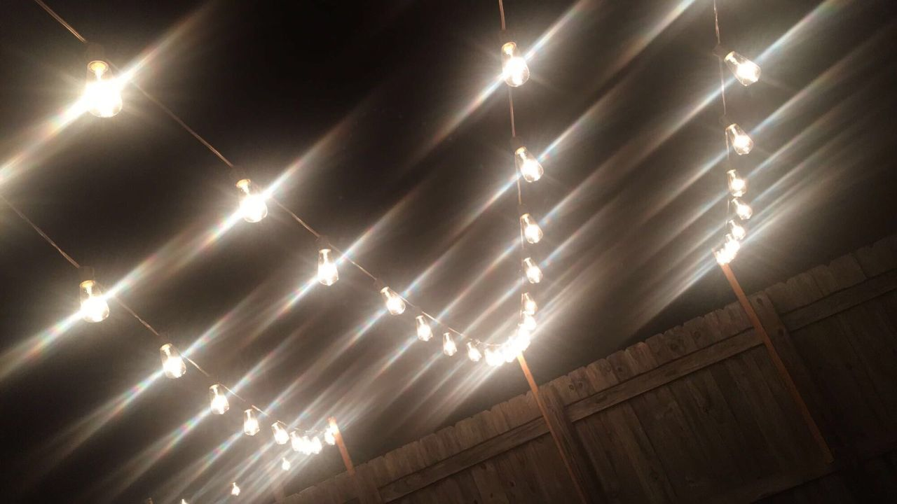 Illuminated Lighting Equipment Low Angle View Pattern No People Architecture Built Structure Light Effect Night
