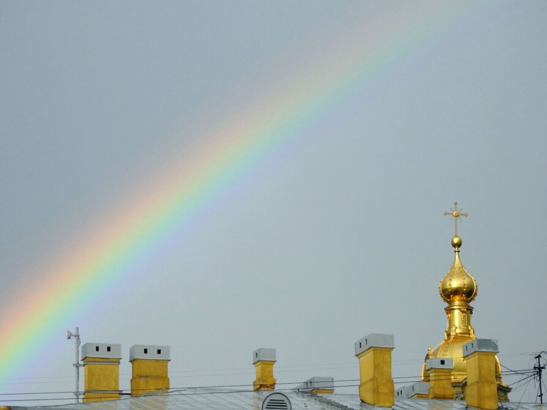 Rainbow Church Relaxing Sky Enjoying Life Sankt-peterburg Russia Streetphotography Summer Views Rainy Days Magic Colors Best EyeEm Shot