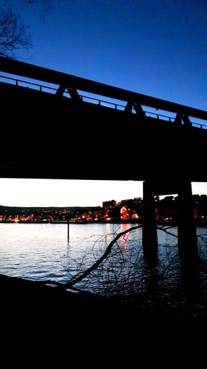 City Lights Water Reflections Bridge River River At Night Water Silhouette Beauty In Nature The Week On EyeEm EyeEm Gallery Eye4photography